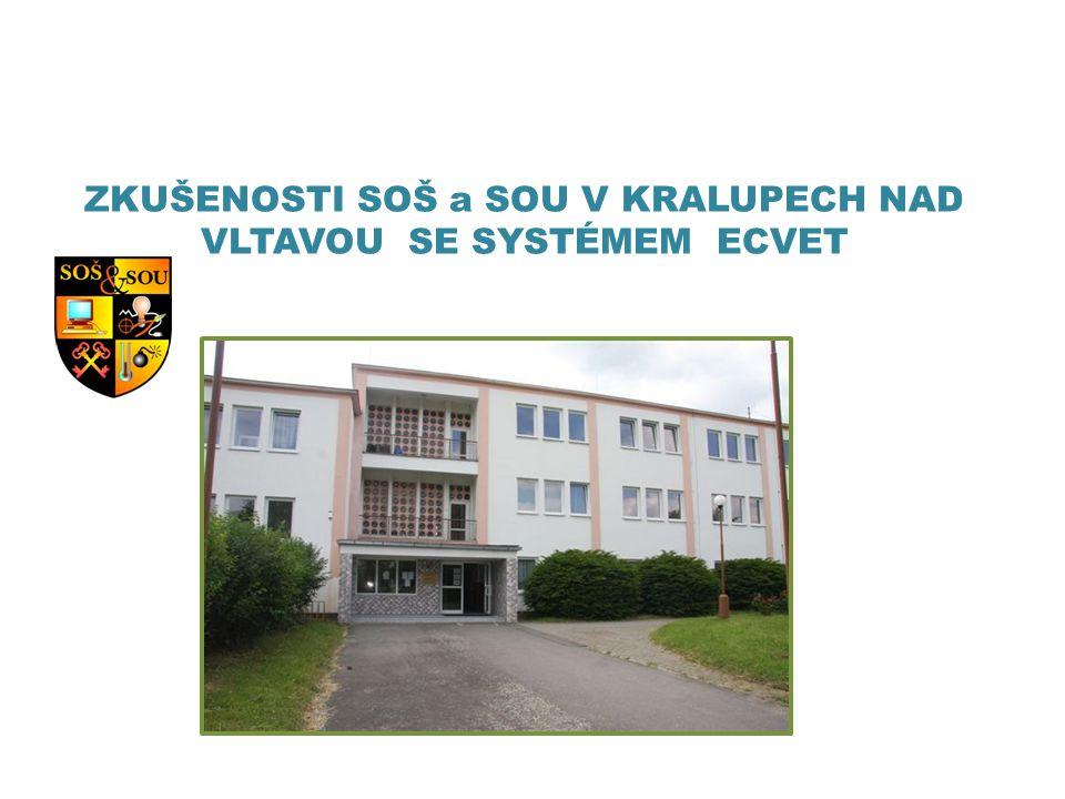 1) LdV – PARTNERSTVÍ CREDCHEM - TRANSFER 2011 - 2013 • Projekt byl zaměřený na testování systému ECVET v odborném chemickém vzdělávání 2) LdV – MOBILITY 2013 – 2014 • Dodržená metodologie systému ECVET, testujeme nové JVU a systém přidělování ECVET bodů