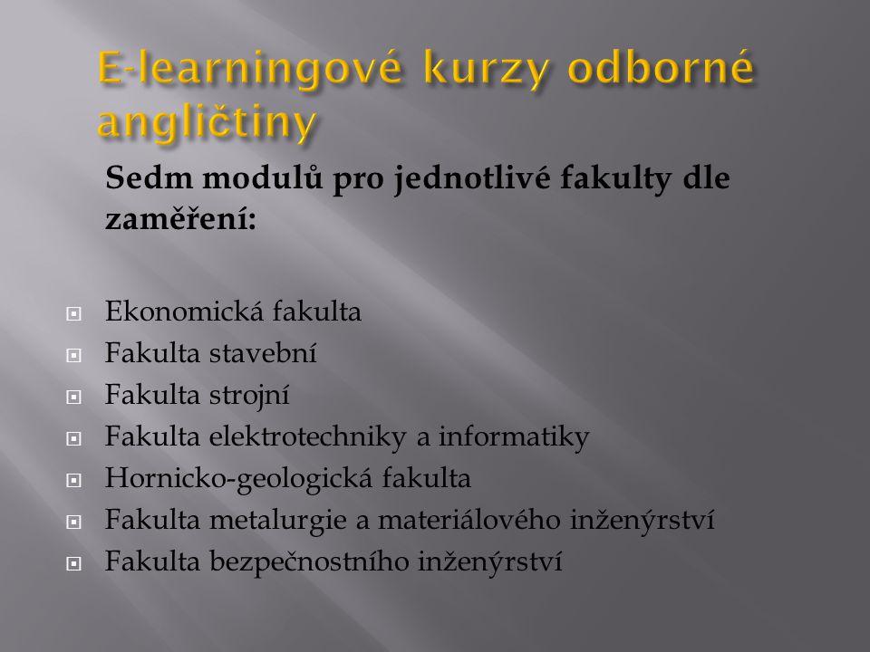 15 lekcí; 3 krátké ověřovací testy; 1 souhrnný test  Unit 1 – 5  Review test (leden 2012)  Unit 6 – 10  Review test (červenec 2012)  Unit 11 – 15  Review test  Final progress test (leden 2013)