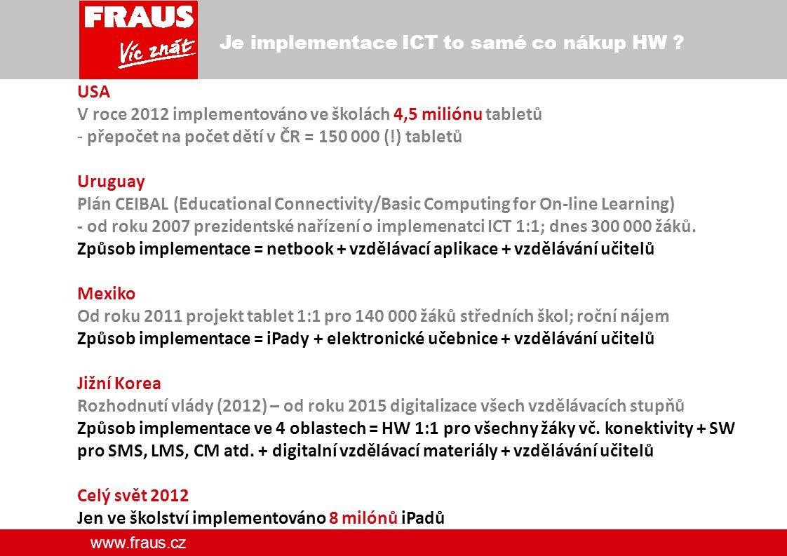www.fraus.cz Děkuji za pozornost. Jiří Fraus fraus@fraus.cz Potřebuje učitel profesionální podporu?