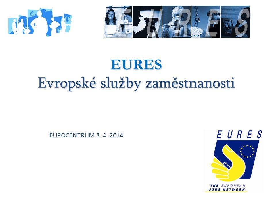 EURES Evropské služby zaměstnanosti EUROCENTRUM 3. 4. 2014