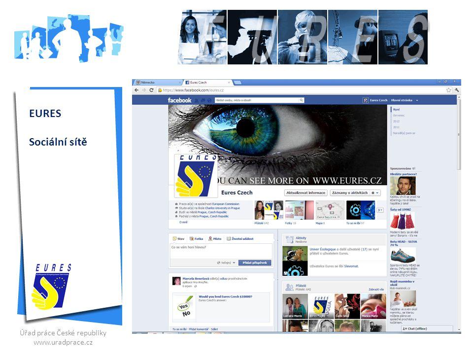 EURES Sociální sítě