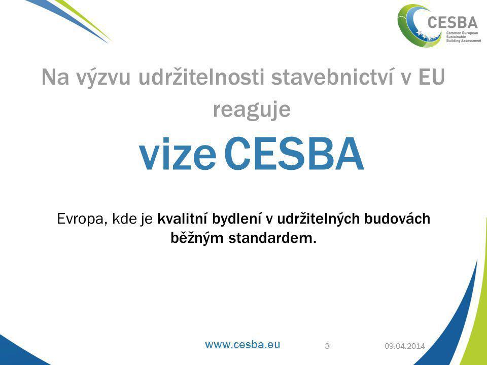www.cesba.eu CESBA principy 9.