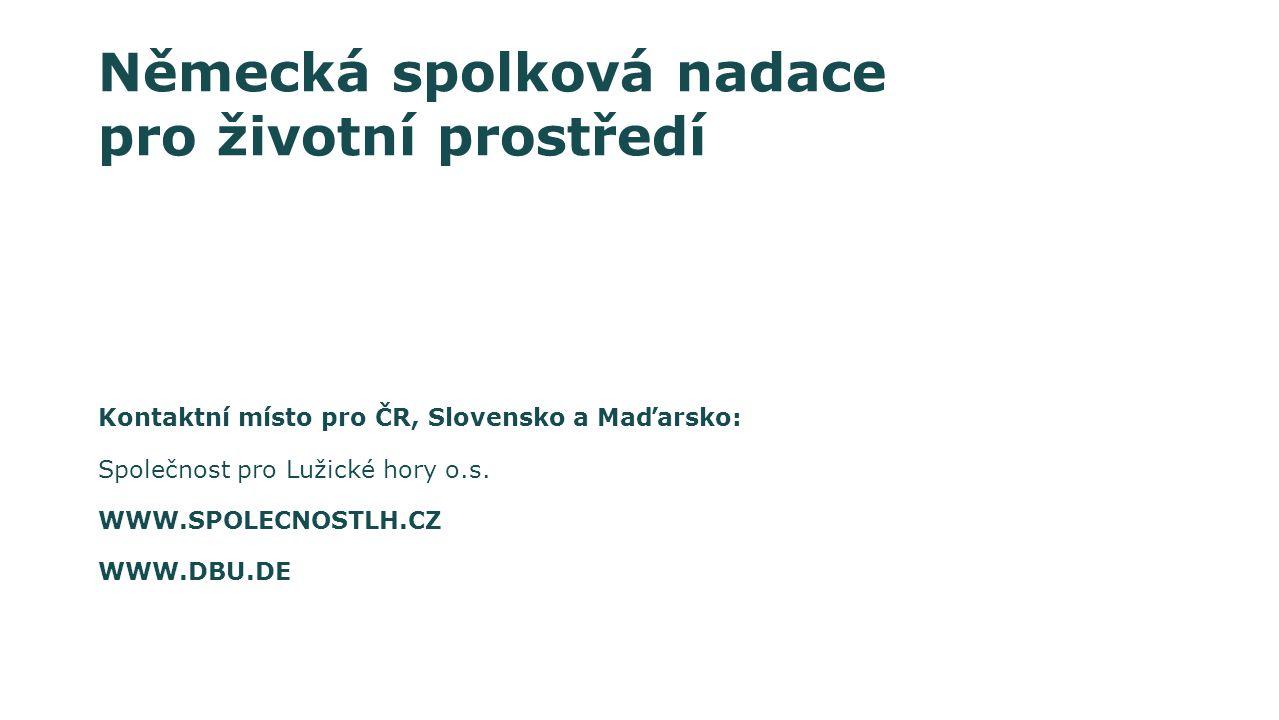 Kontaktní místo pro ČR, Slovensko a Maďarsko: Společnost pro Lužické hory o.s.
