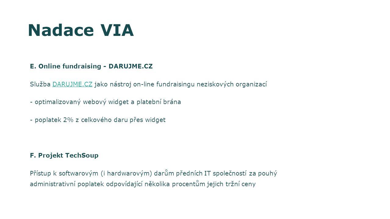 Programy pro památkový fond a kulturní dědictví - dotační oblast 9 Dvě formy projektů 1)malé projekty, u kterých výše žádané podpory nepřesahuje 125.000 Euro a které schvaluje generální sekretář nadace 2)velké projekty nad 125.000 Euro, jež schvaluje 14ti členné kuratorium Nejsou pevné termíny ukončení příjmu žádostí Kofinancování projektu - 50%, lze kombinovat s jinými dotacemi Výše dotace různá v závislosti na projektu a předkladateli, možná je i účelově vázaná půjčka nebo záruka Předkladatel žádosti musí být vždy z Německa Německá spolková nadace pro životní prostředí