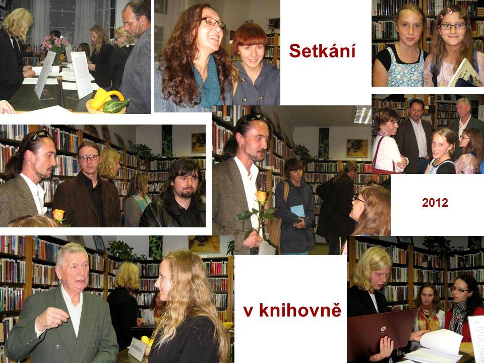 Setkání v knihovně 2012