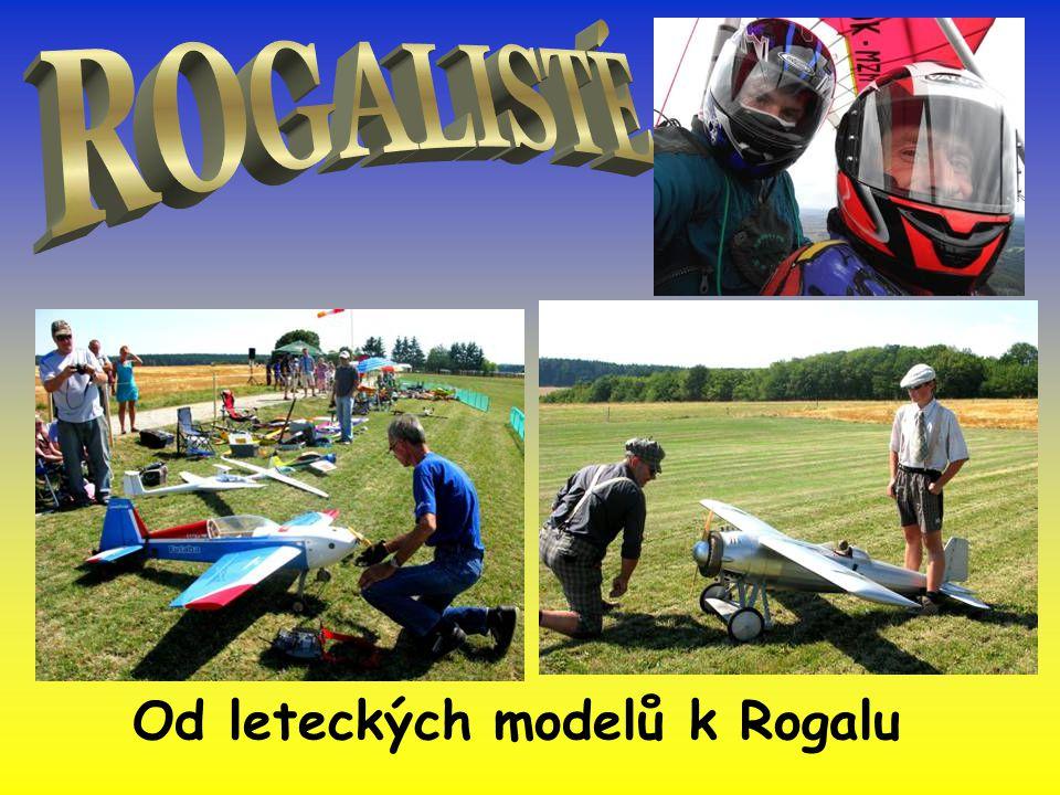 Od leteckých modelů k Rogalu