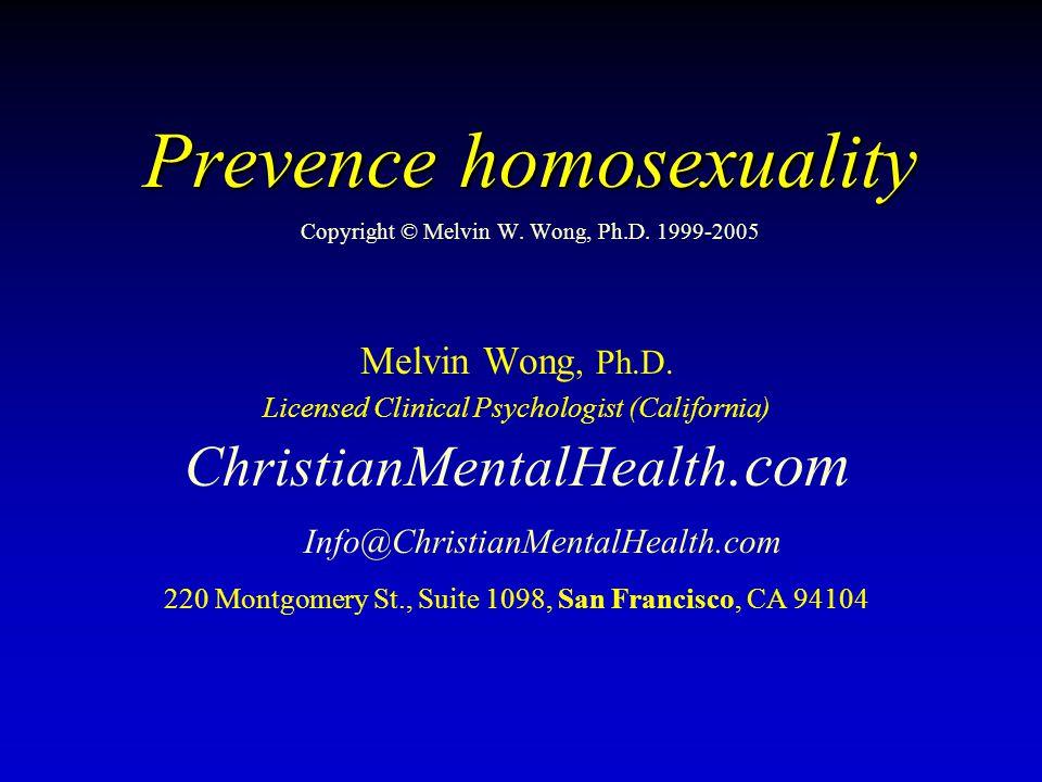 Prevence homosexuality Je naučená, biologicky daná, nebo obojí?