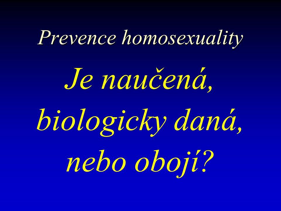 Terminologie homosexuality Homosexualita vs.Gay vs.