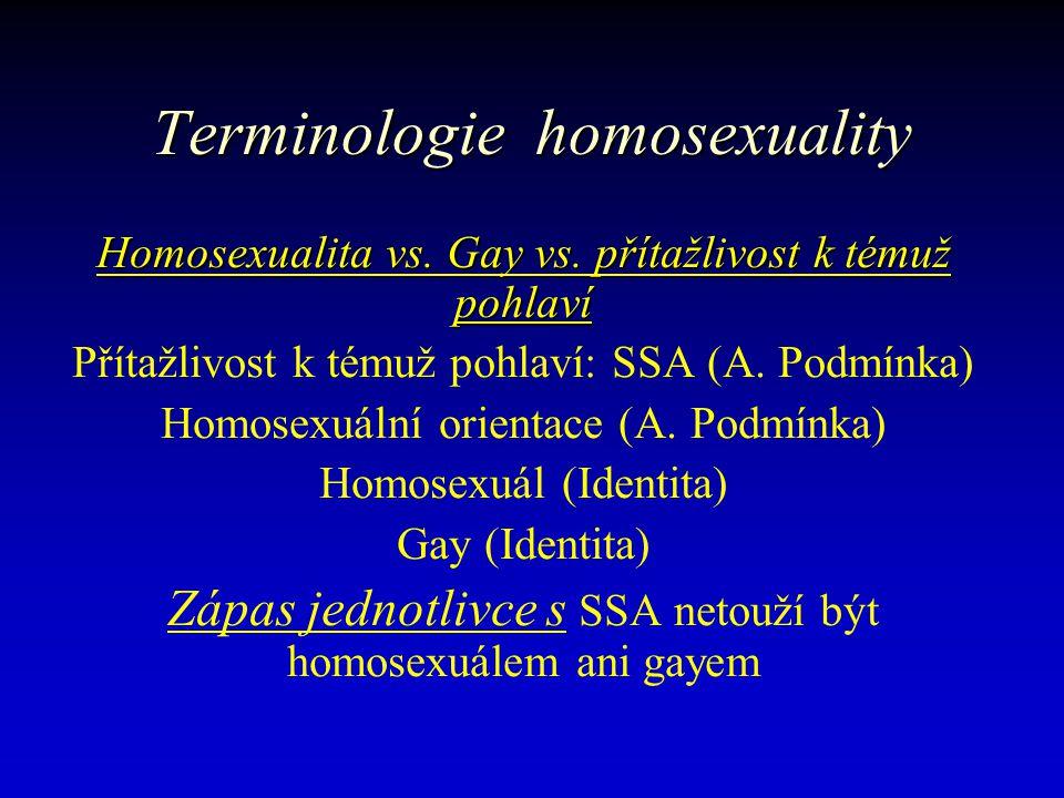 Prevence homosexuality Otázka přirozenosti vs.