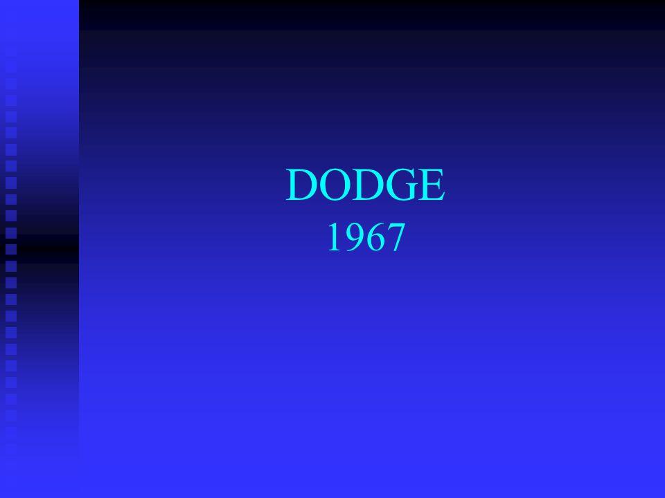 DODGE 1967