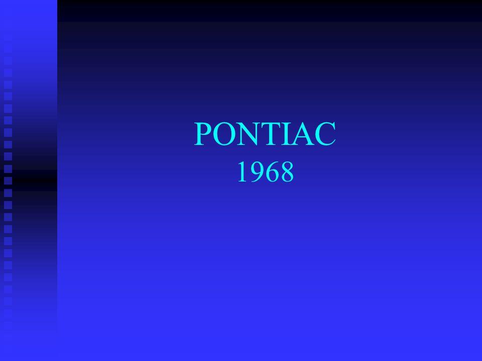 PONTIAC 1968