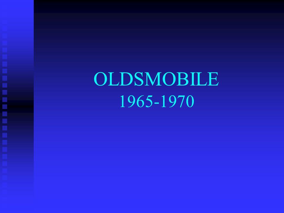 OLDSMOBILE 1965-1970
