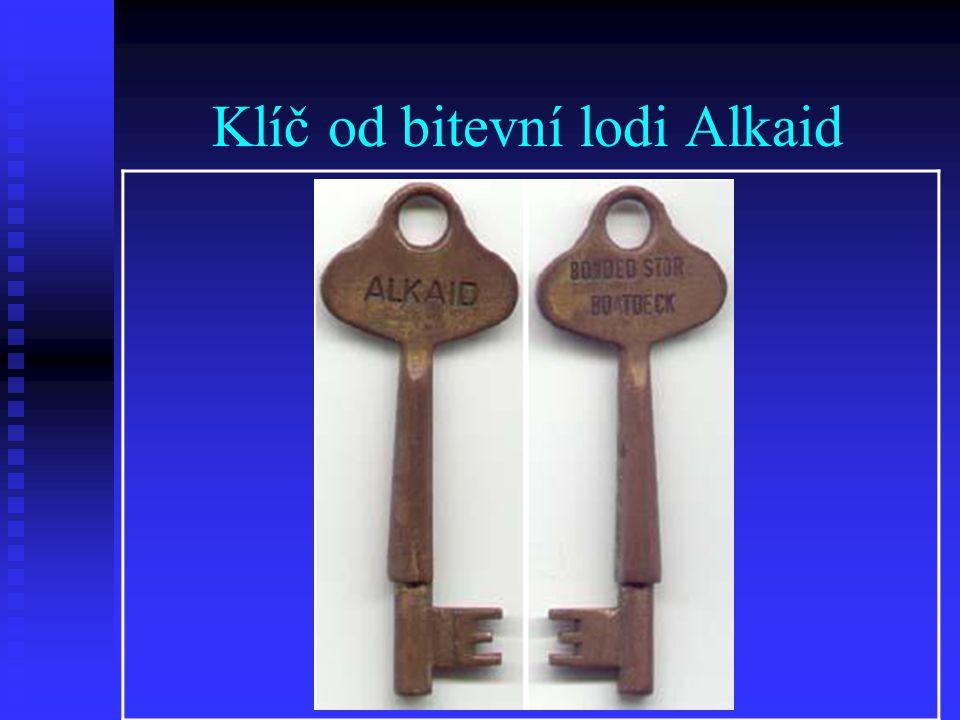 Klíč od bitevní lodi Alkaid