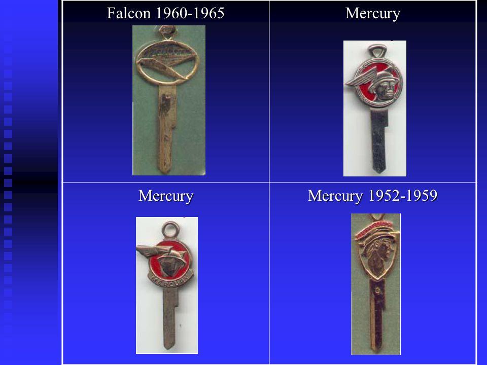 Falcon 1960-1965 Mercury Mercury Mercury 1952-1959