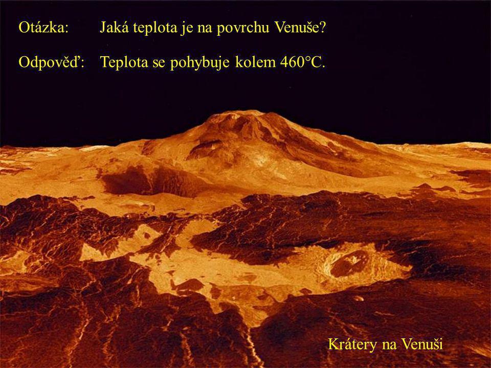 Druhá planeta od Slunce Ohnivá Venuše (radarový snímek)