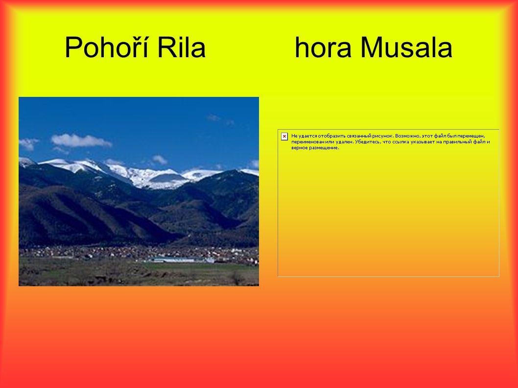 Pohoří Rila hora Musala