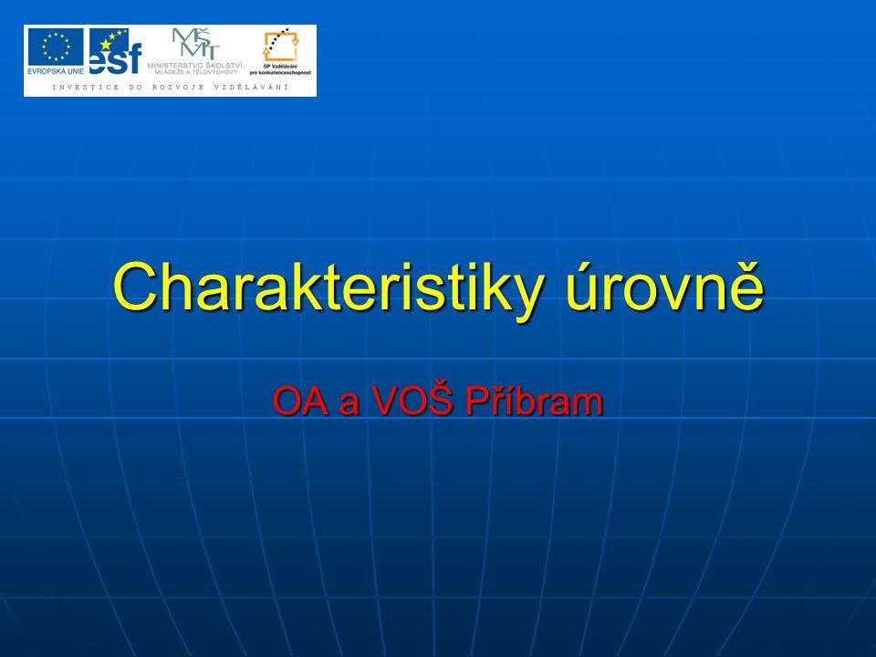 Charakteristiky úrovně (polohy) Statistický soubor je nahrazen jen jediným číslem, které jej určitým způsobem specifikuje.