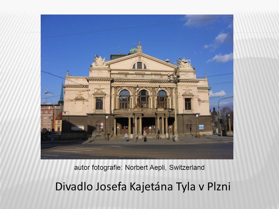 19 Divadlo Josefa Kajetána Tyla v Plzni autor fotografie: Norbert Aepli, Switzerland