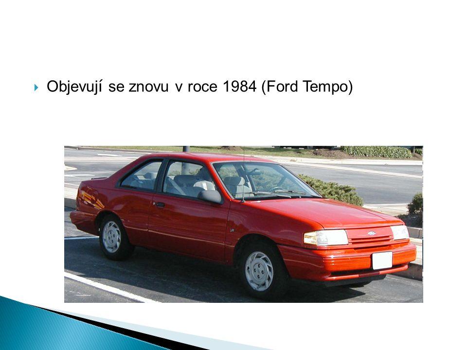  Objevuj í se znovu v roce 1984 (Ford Tempo)