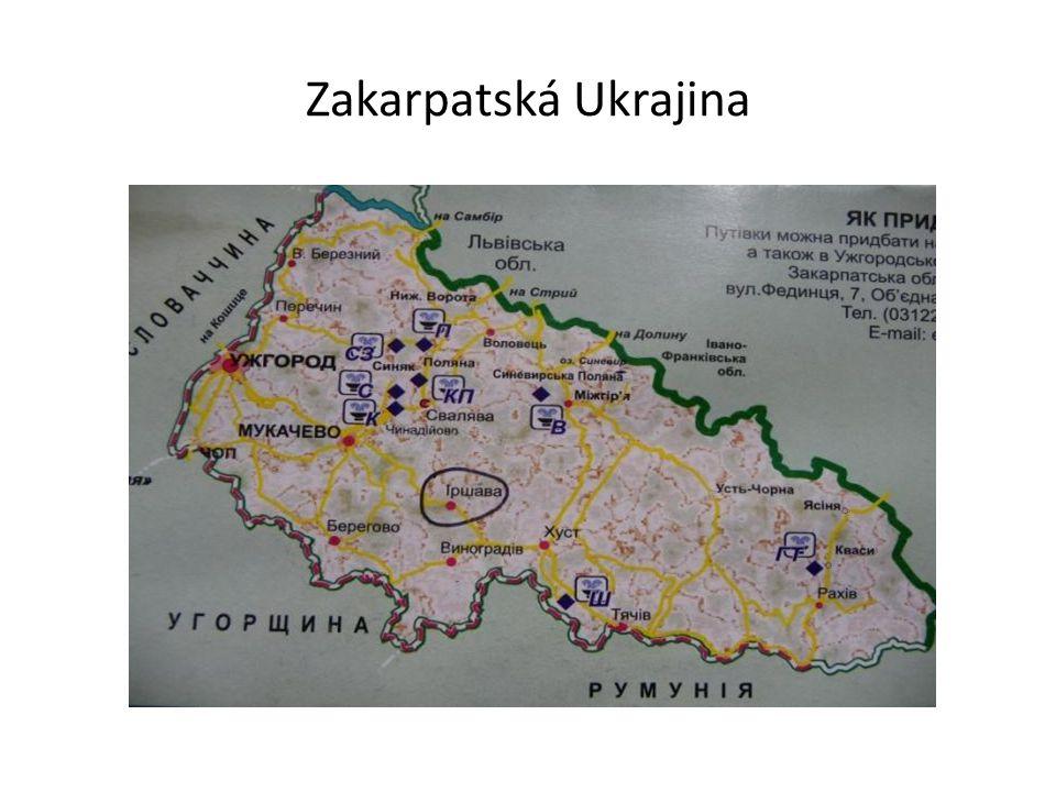 Iršava - Іршава Iršava (ukrajinsky Іршава [Iršáva], rusky Иршава [Iršáva], maďarsky Ilosva [Ilošva], rumunsky Ilova [Ilošva], polsky Irszawa [Iršava]) je neveliké okresní město ve střední části Zakarpatí.