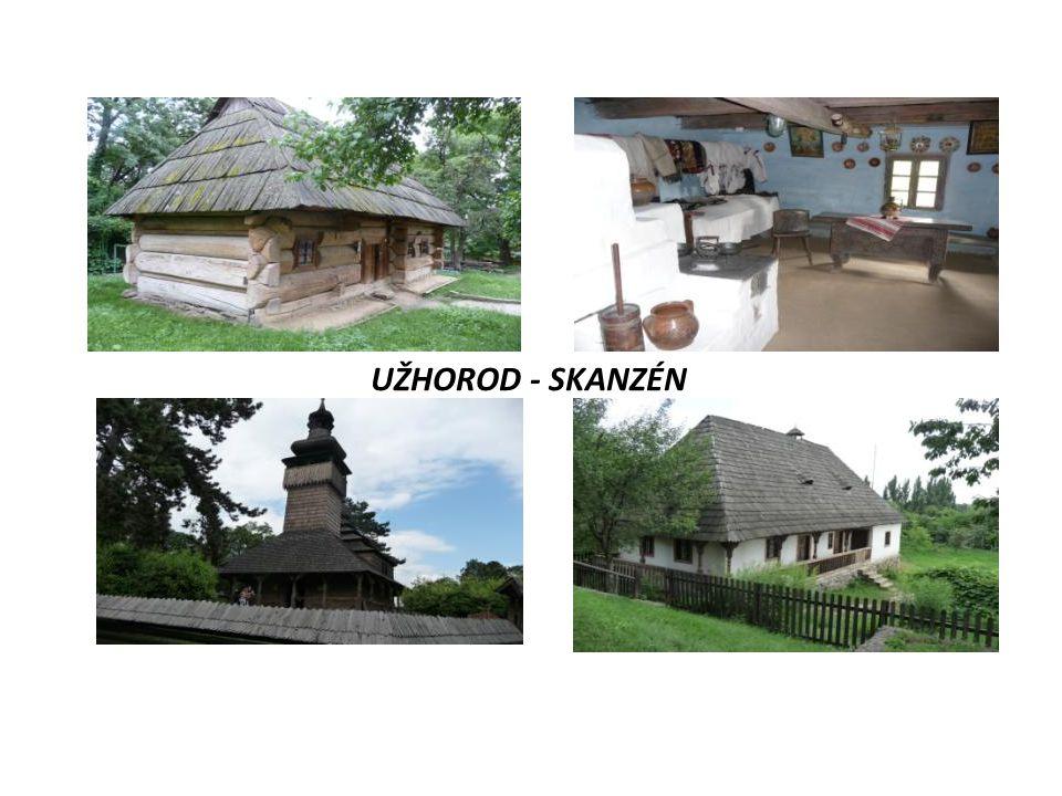 UŽHOROD - SKANZÉN