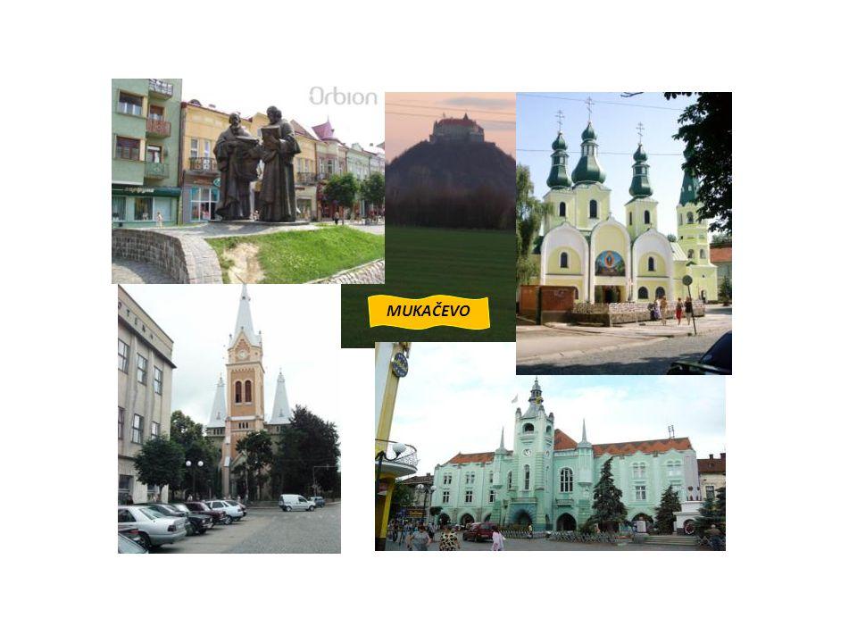 Stručný historický přehled města Mukačeva 9.století: pravděpodobně součástí Velké Moravy 10.