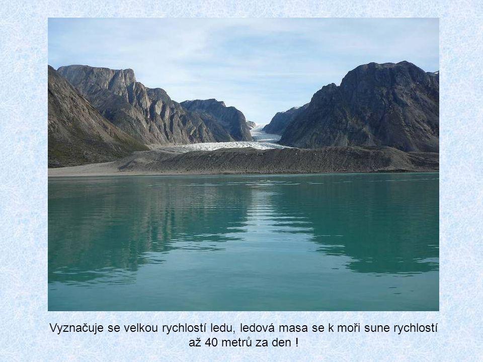 Hlavní přírodní zajímavostí ostrova je Sermeq Kujalleq, nejproduktivnější ledovec severní polokoule a zároveň největší ledovec, který ústí v moři. Ten