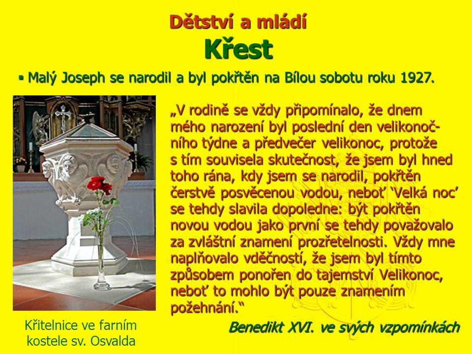  Otec Joseph Ratzinger (nar.