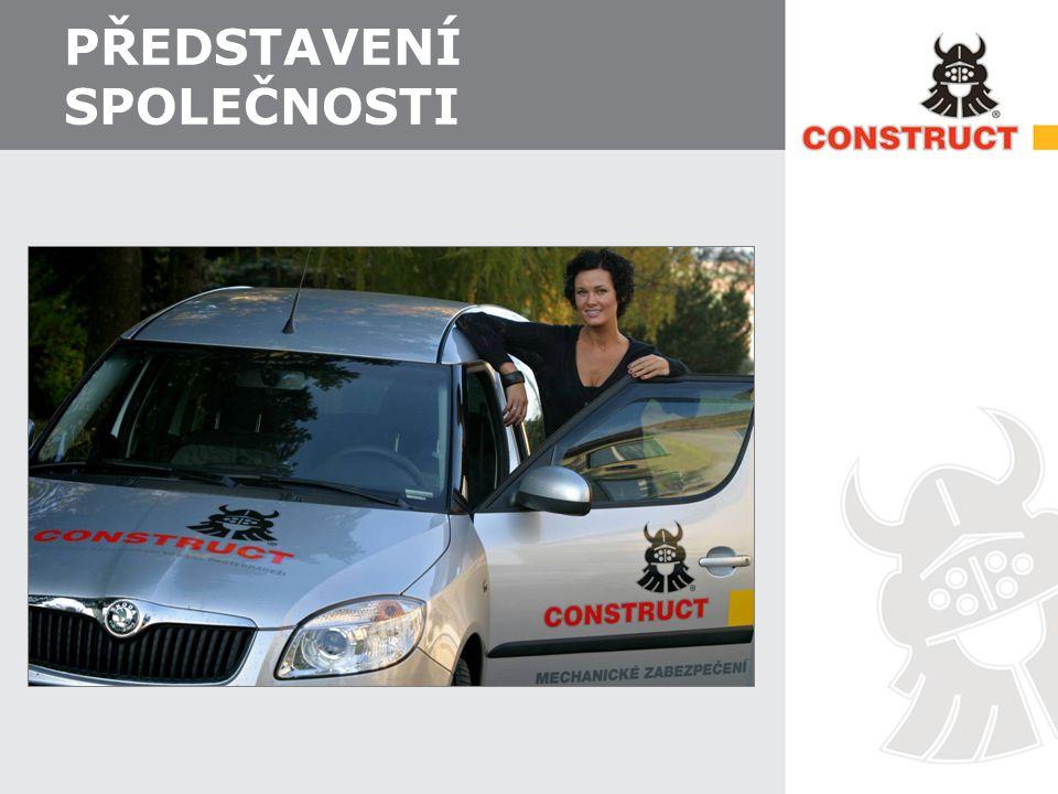 Společnost CONSTRUCT  Společnost CONSTRUCT je největším českým výrobcem mechanického zabezpečení vozidel proti krádeži  Na trhu přes 20 let.