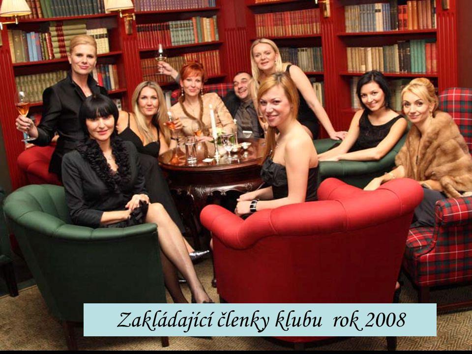 Zakládající členky klubu rok 2008