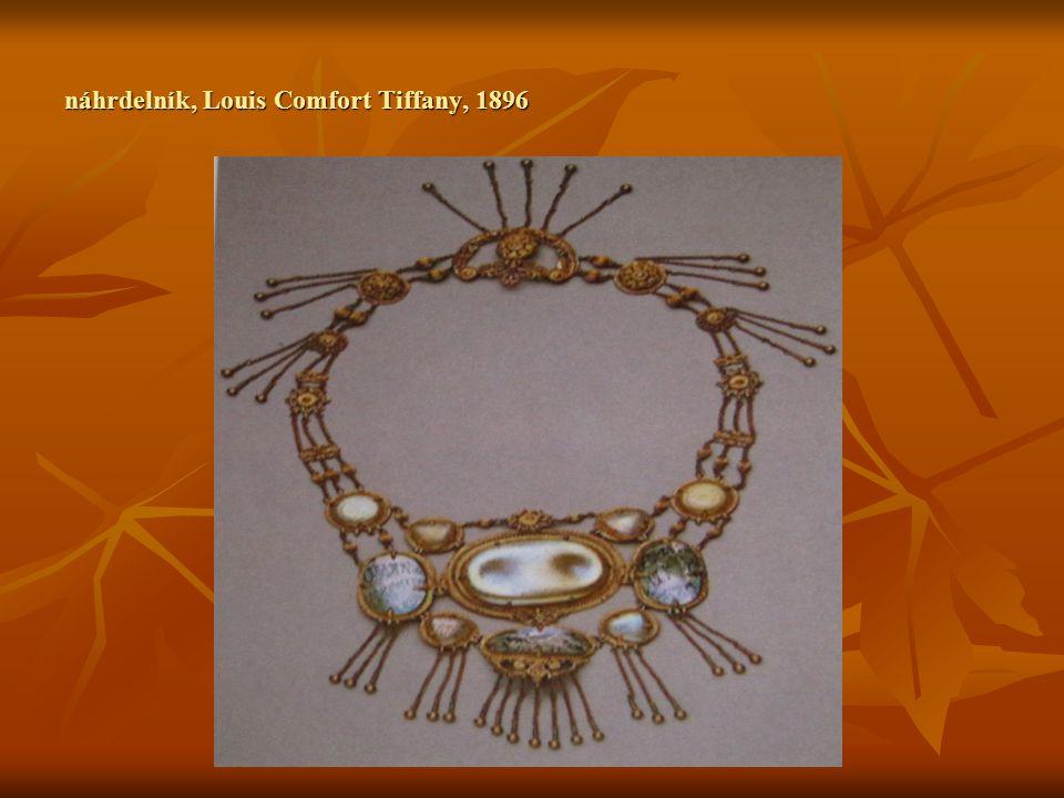 náhrdelník, Louis Comfort Tiffany, 1896
