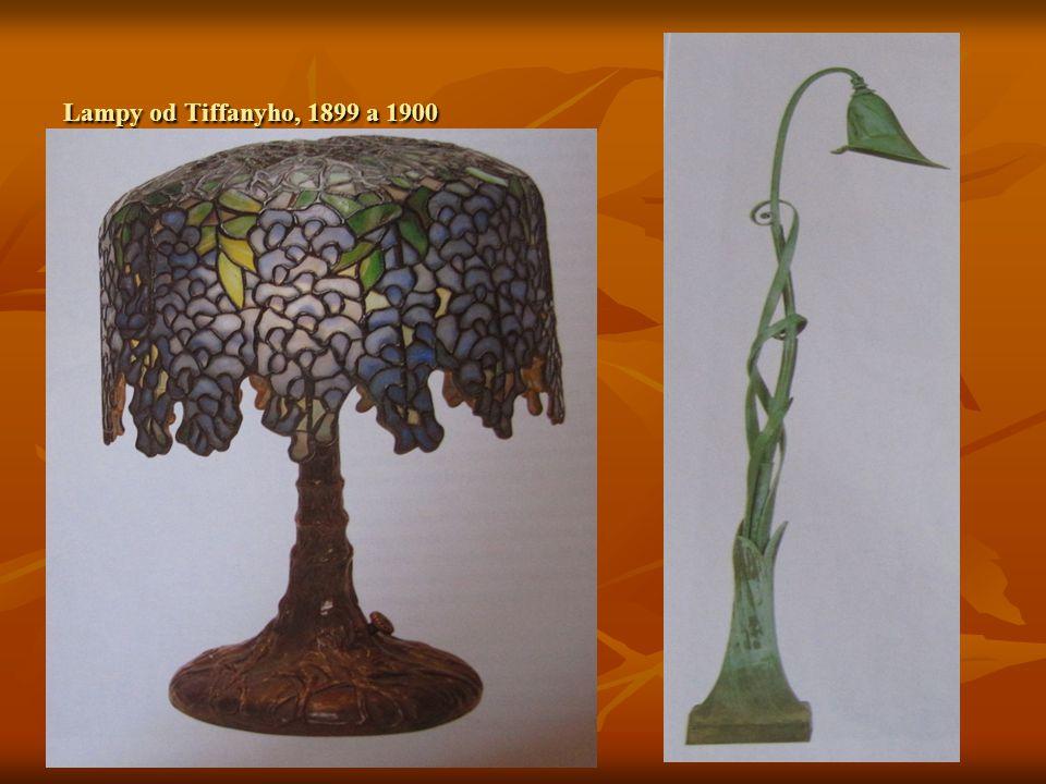 Lampy od Tiffanyho, 1899 a 1900