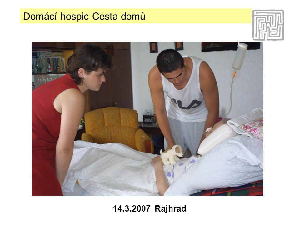 Domácí hospic Cesta domů 14.3.2007 Rajhrad