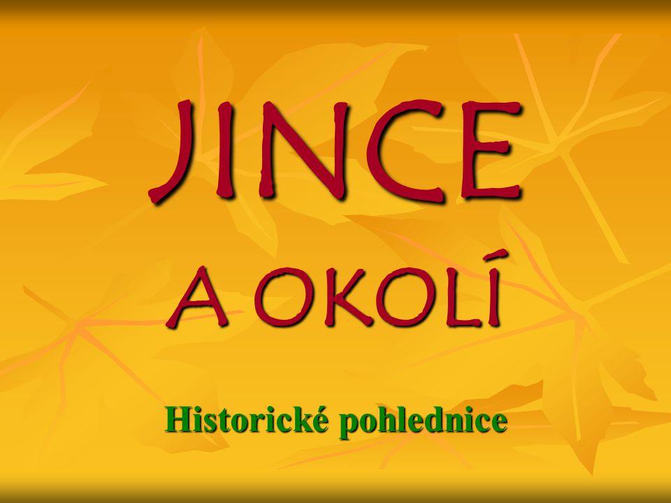 JINCE A OKOLÍ Historické pohlednice