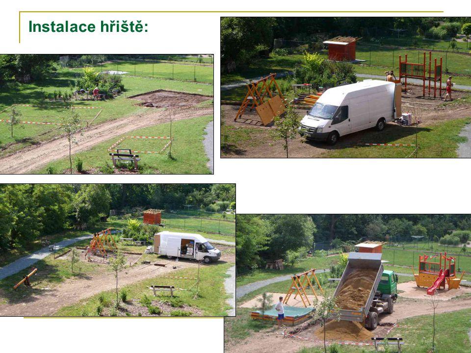 Instalace hřiště: