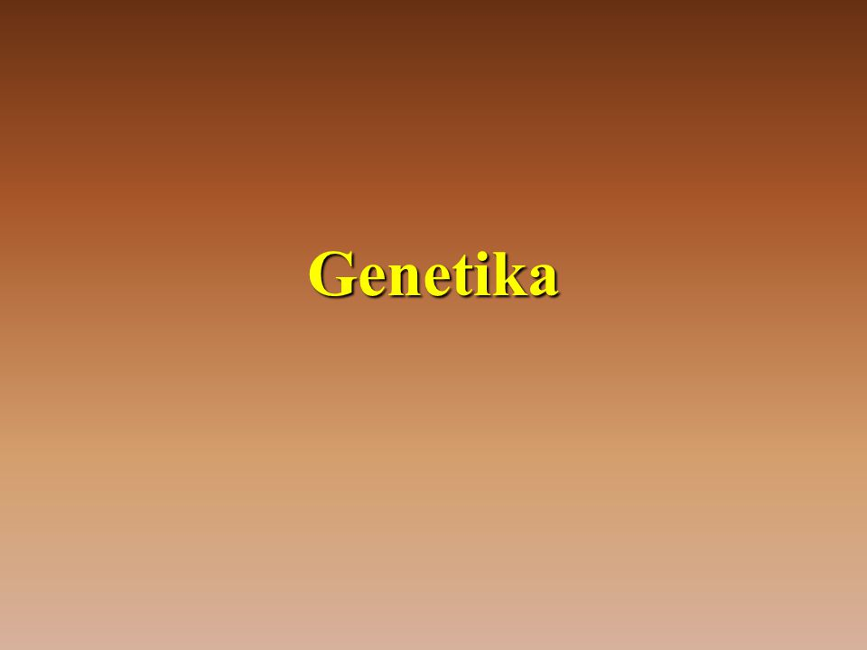 •Nabízí se nám pouze 4 možné fenotypové projevy (dominantní v obou znacích, v 1.