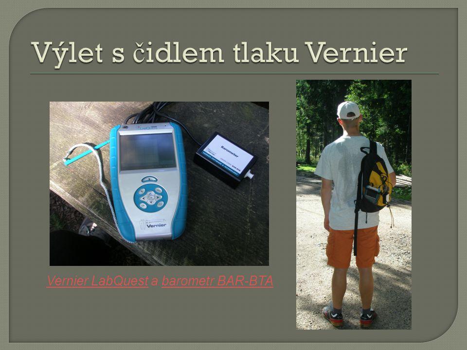 Vernier LabQuestVernier LabQuest a barometr BAR-BTAbarometr BAR-BTA