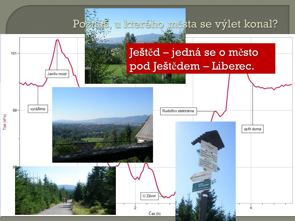 Ješt ě d – jedná se o m ě sto pod Ješt ě dem – Liberec.