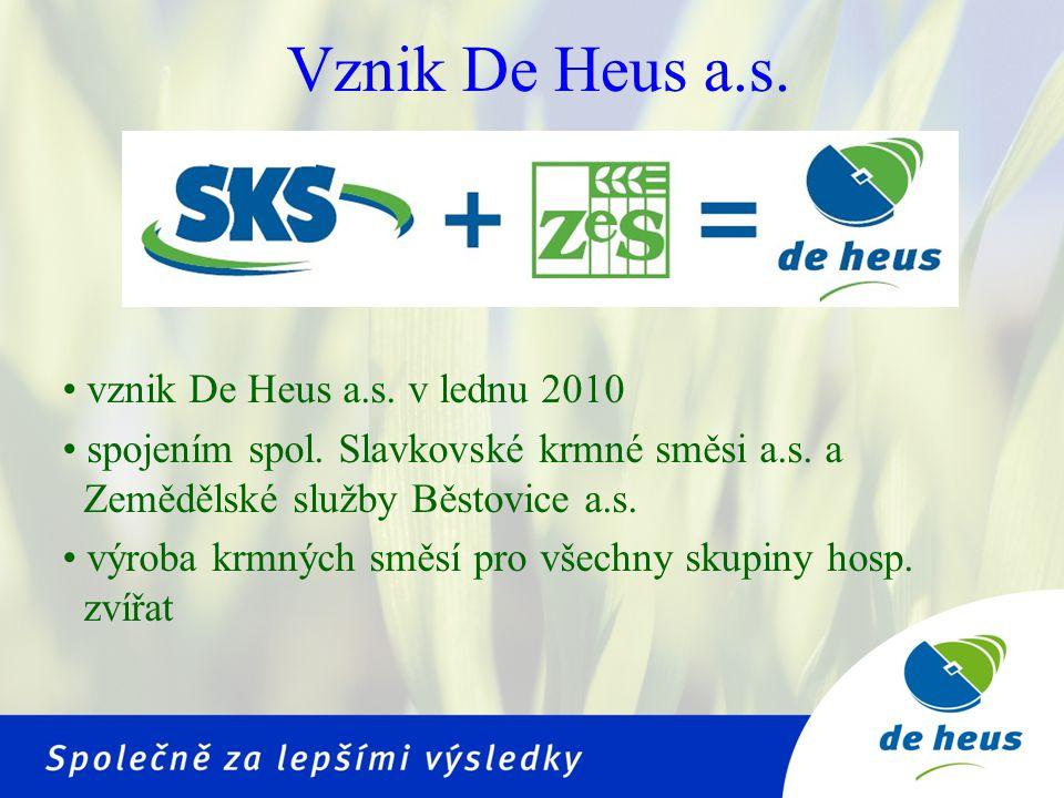 • postupná modernizace výrobních závodů • nová šrotovací linka • výrobna Marefy – nejmodernější výrobna KS v Česko-Slovensku • celková produkce 2009 – 120 000 tun KS