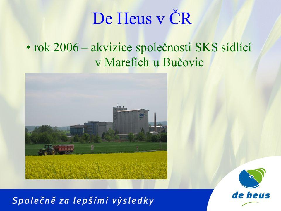 •rok 2009 – akvizice společnosti ZeS sídlící v Běstovicích u Chocně