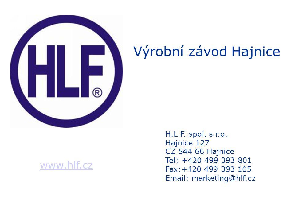 www.hlf.cz H.L.F.spol. s r.o.
