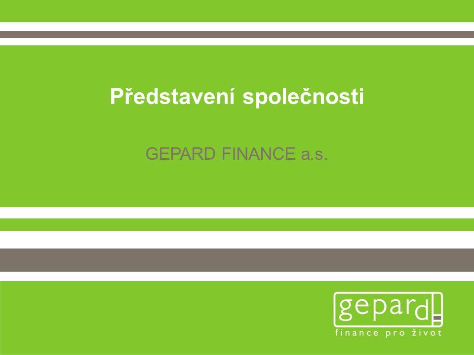 Představení společnosti GEPARD FINANCE a.s.