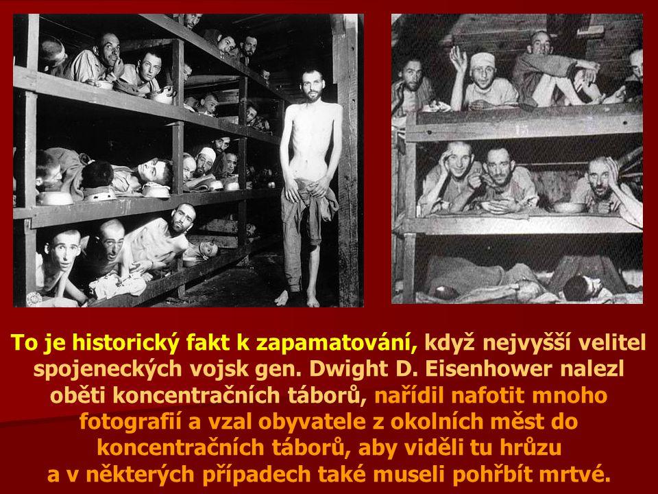 To je historický fakt k zapamatování, když nejvyšší velitel spojeneckých vojsk gen.