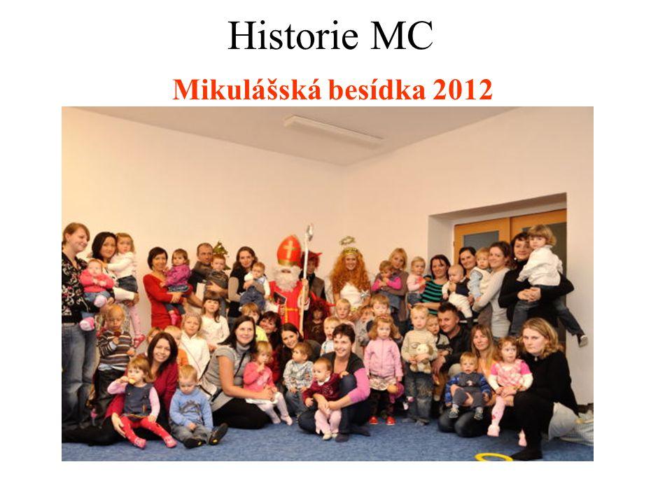 Mikulášská besídka 2012 Historie MC
