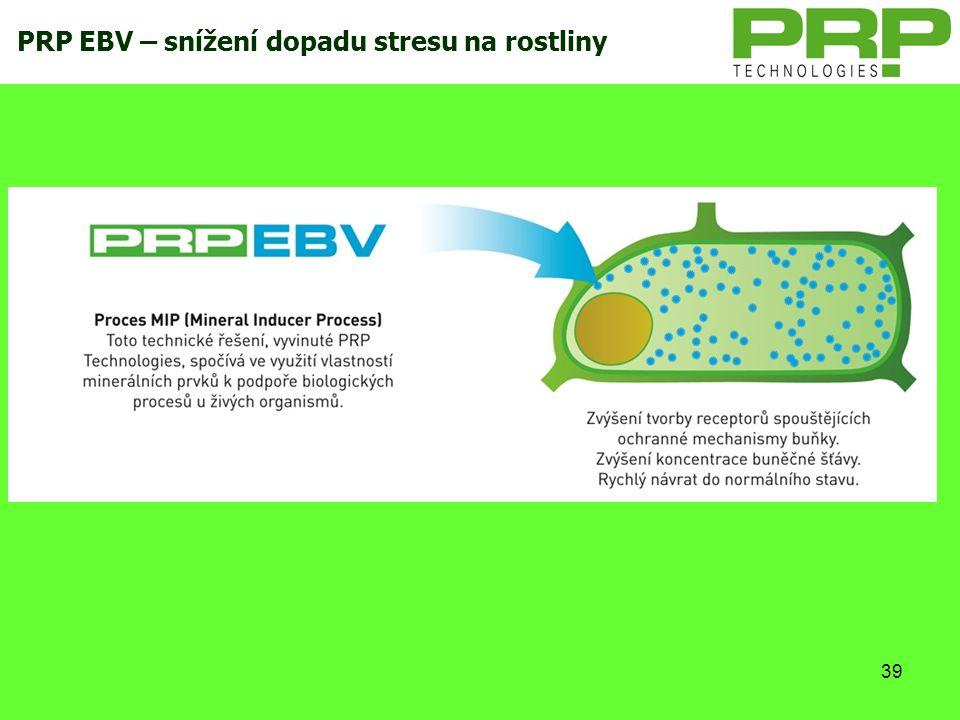 39 PRP EBV – snížení dopadu stresu na rostliny