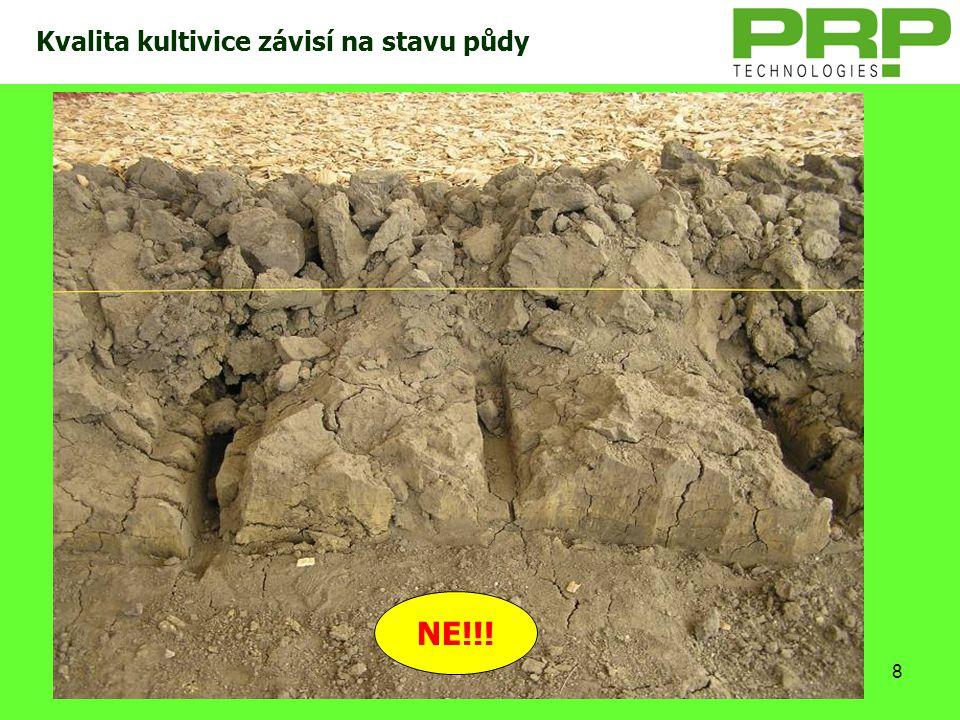 8 Kvalita kultivice závisí na stavu půdy NE!!!