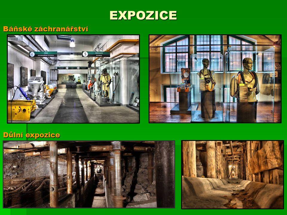 EXPOZICE Báňské záchranářství Důlní expozice