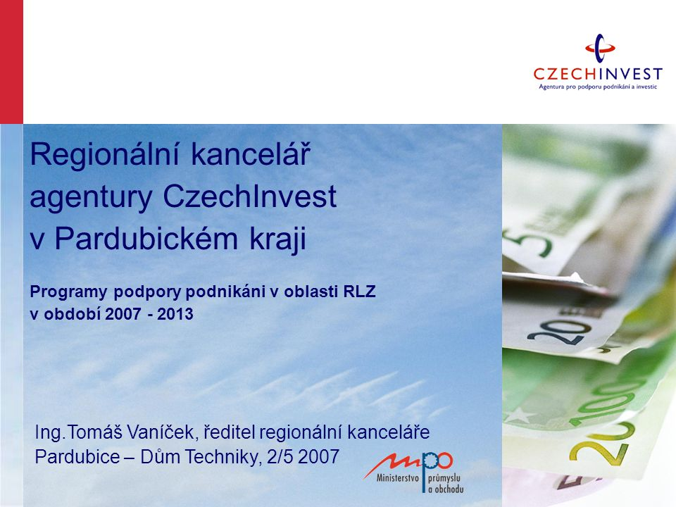 Informace www.czechinvest.org