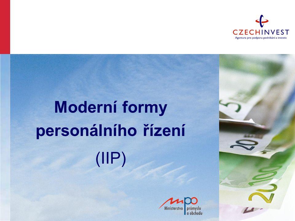 Moderní formy personálního řízení (IIP)