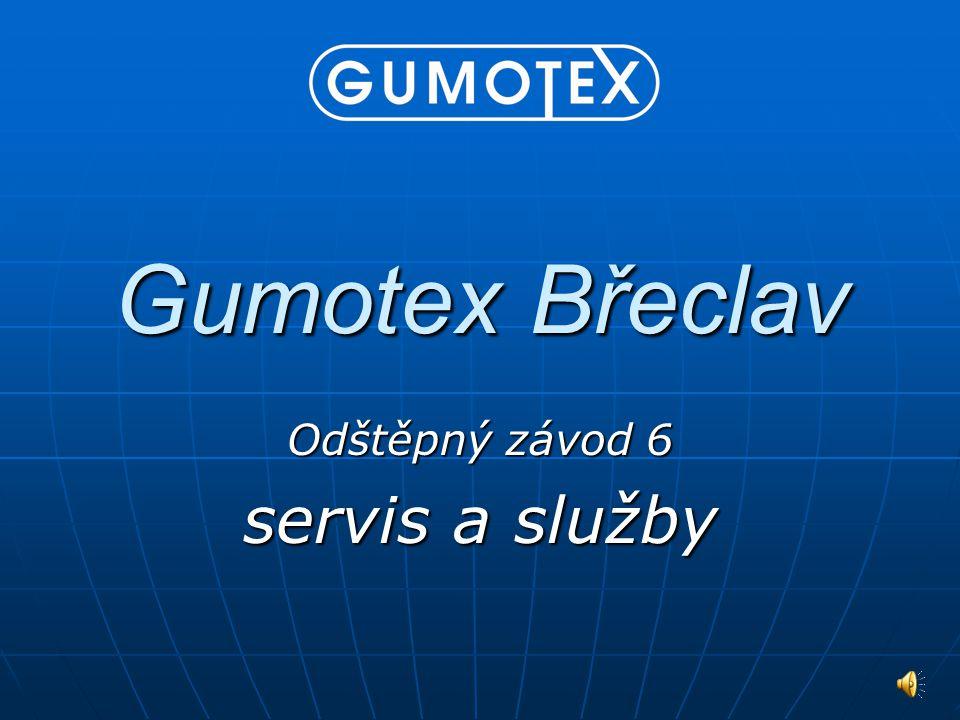 Gumotex Břeclav Odštěpný závod 6 servis a služby